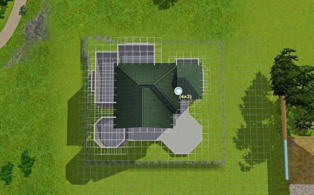 [Débutant] - Du carré à la maison victorienne - La maison sur la colline Victor13
