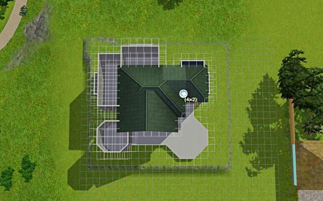 [Débutant] - Du carré à la maison victorienne - La maison sur la colline Victor14