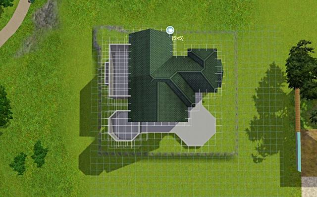 [Débutant] - Du carré à la maison victorienne - La maison sur la colline Victor18