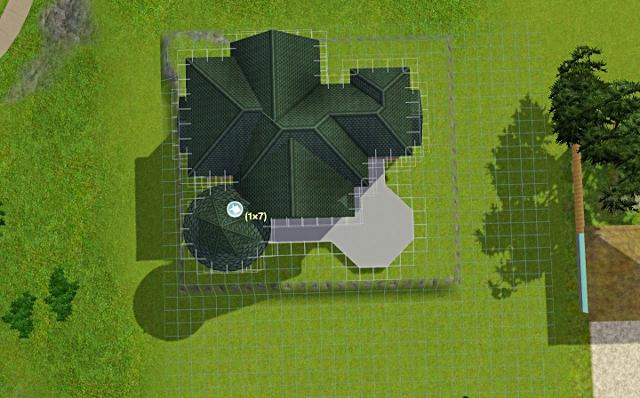 [Débutant] - Du carré à la maison victorienne - La maison sur la colline Victor30
