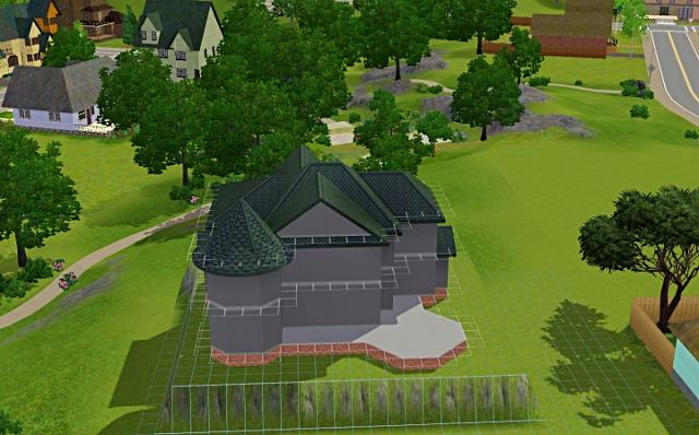 [Débutant] - Du carré à la maison victorienne - La maison sur la colline Victor31