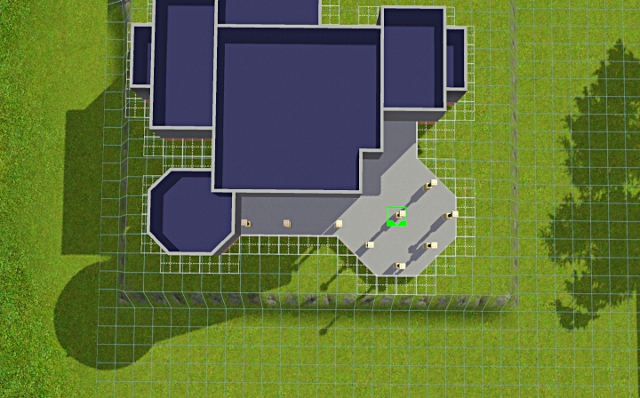 [Débutant] - Du carré à la maison victorienne - La maison sur la colline Victor35