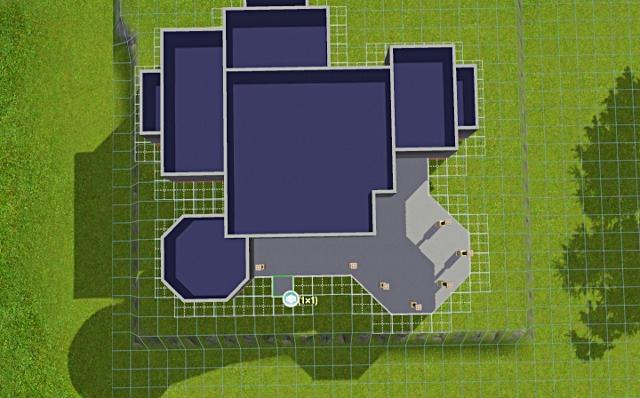 [Débutant] - Du carré à la maison victorienne - La maison sur la colline Victor44