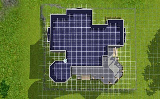 [Débutant] - Du carré à la maison victorienne - La maison sur la colline Victor55