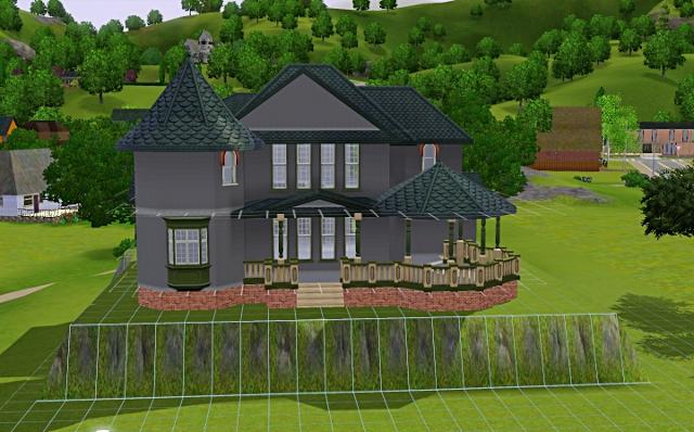 [Débutant] - Du carré à la maison victorienne - La maison sur la colline Victor56
