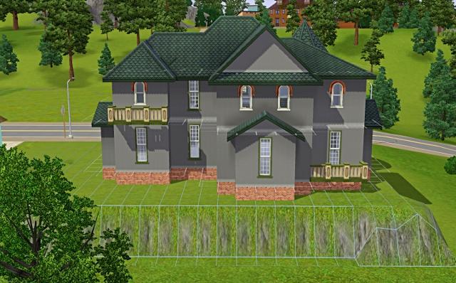 [Débutant] - Du carré à la maison victorienne - La maison sur la colline Victor57