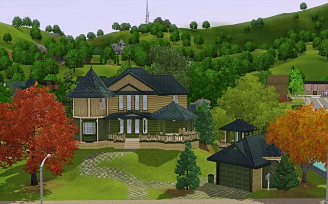 [Débutant] - Du carré à la maison victorienne - La maison sur la colline Victor89