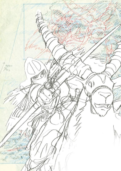 Ghibli s'invite dans la Galerie Art Ludique Expo-g10