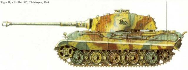 Tigre II ( tamiya/ E.T/ atak au 1/35eme ) 1710