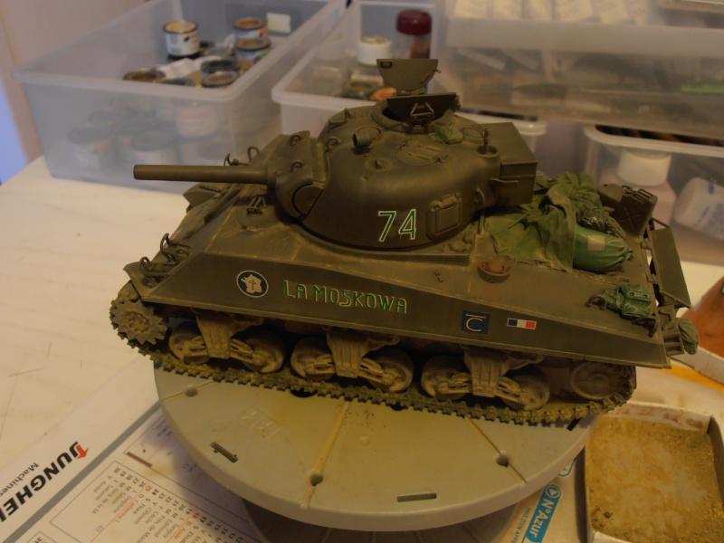 M4 105 Sherman au 1/35 les détails - Page 2 P2050010