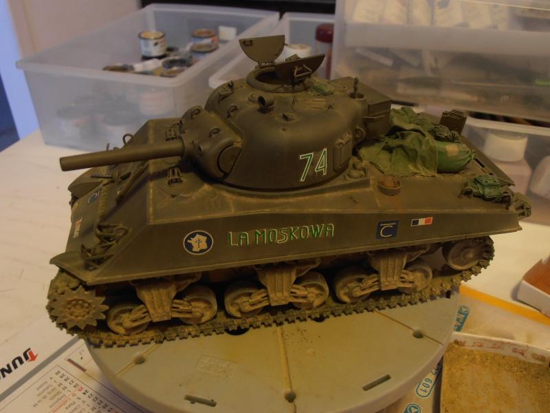 M4 105 Sherman au 1/35 les détails - Page 2 P2050011