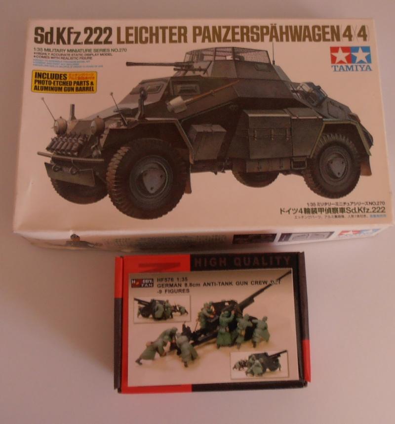 Sdkfz 222 ( Tamiya, 1/35eme ) P6210410