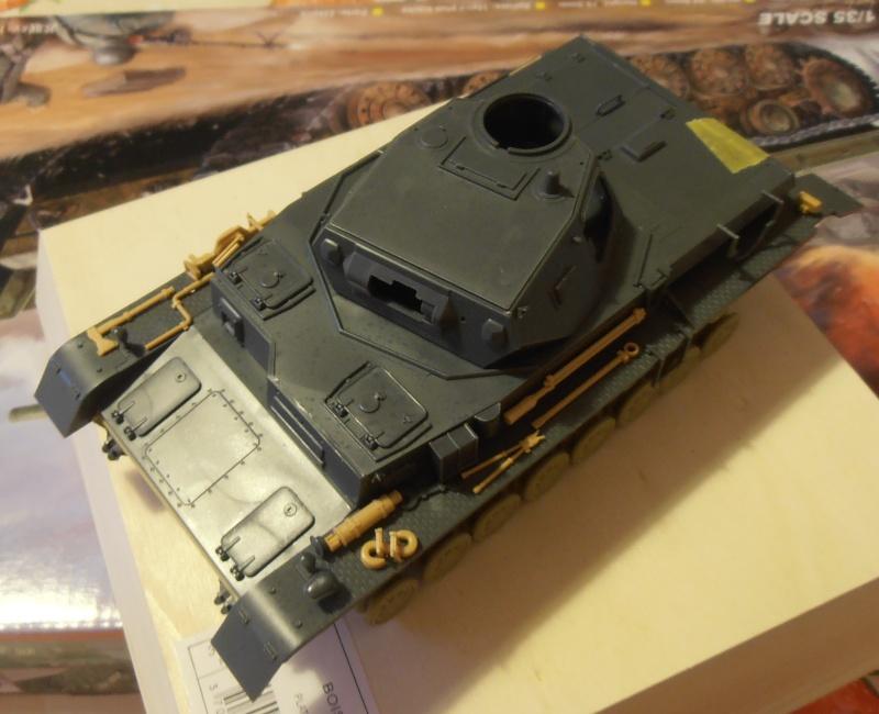 Panzer IV Ausf D ( tamiya 1/35eme ) P7060516