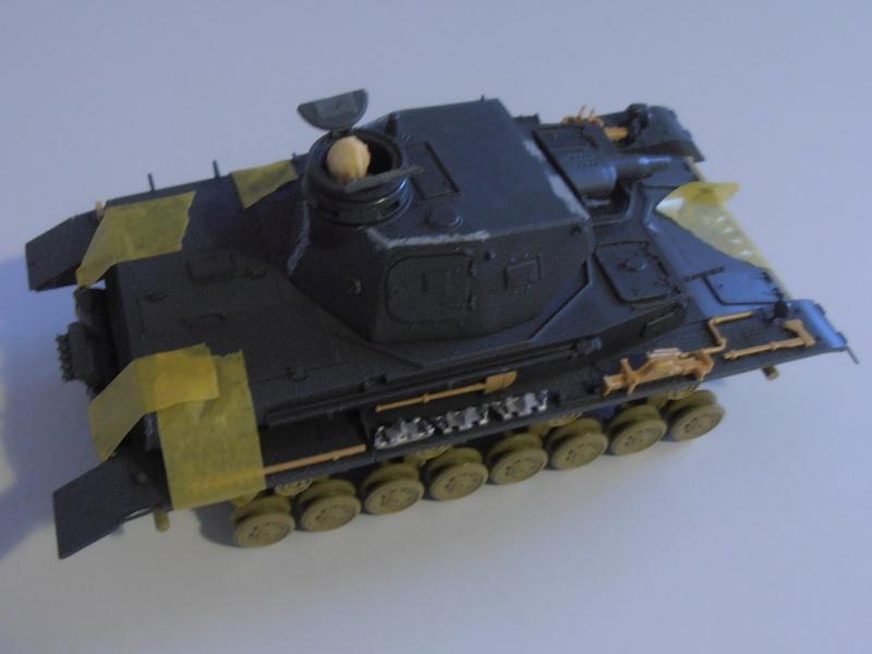 Panzer IV Ausf D ( tamiya 1/35eme ) P7070511