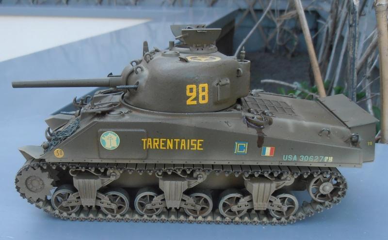 """ Le tarentaise "" 2 eme DB ( sherman dragon, 1/35eme ) P7180017"