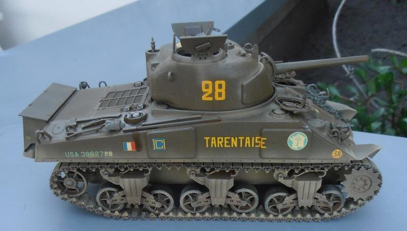 """ Le tarentaise "" 2 eme DB ( sherman dragon, 1/35eme ) P7180018"