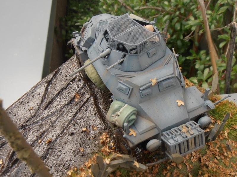 Sdkfz 222 ( Tamiya 1/35eme ) P7310330
