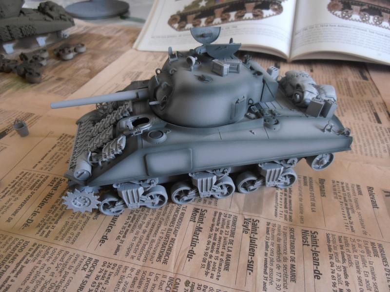 """Sherman MkIII """" Monte cassino """" la peinture. P8310410"""