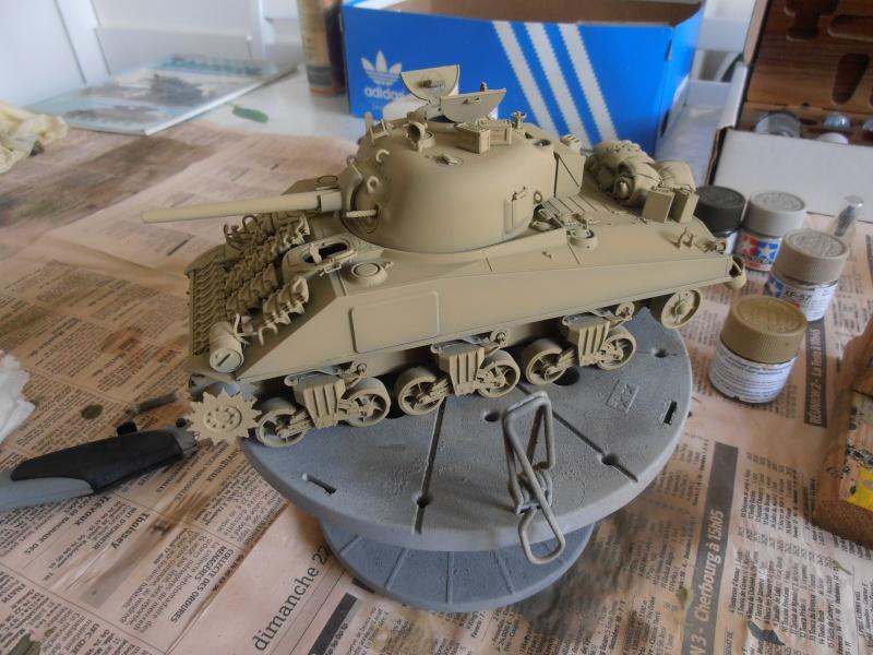 """Sherman MkIII """" Monte cassino """" la peinture. P8310413"""