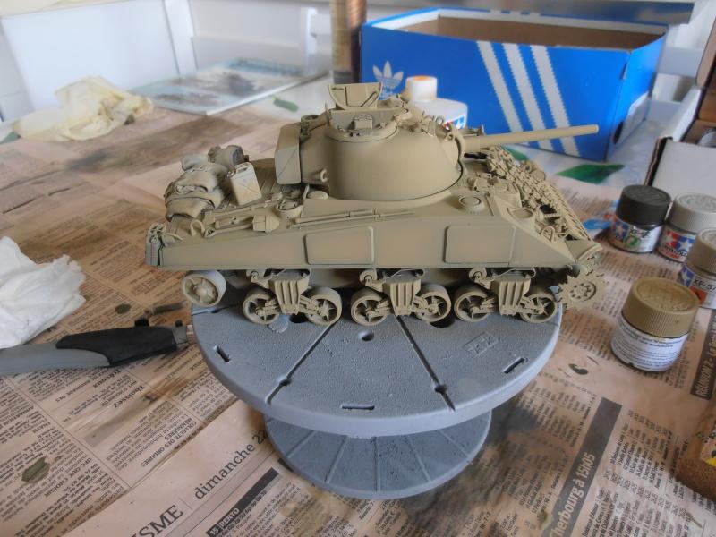 """Sherman MkIII """" Monte cassino """" la peinture. P8310414"""