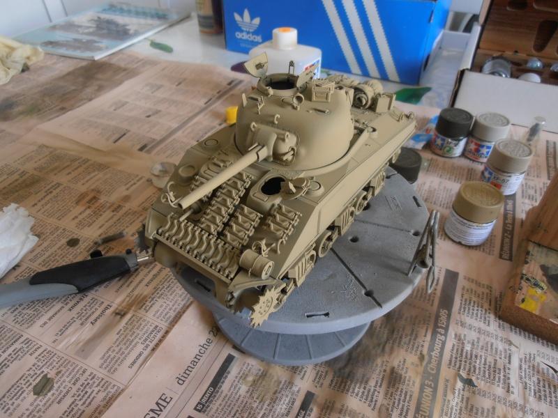 """Sherman MkIII """" Monte cassino """" la peinture. P8310415"""
