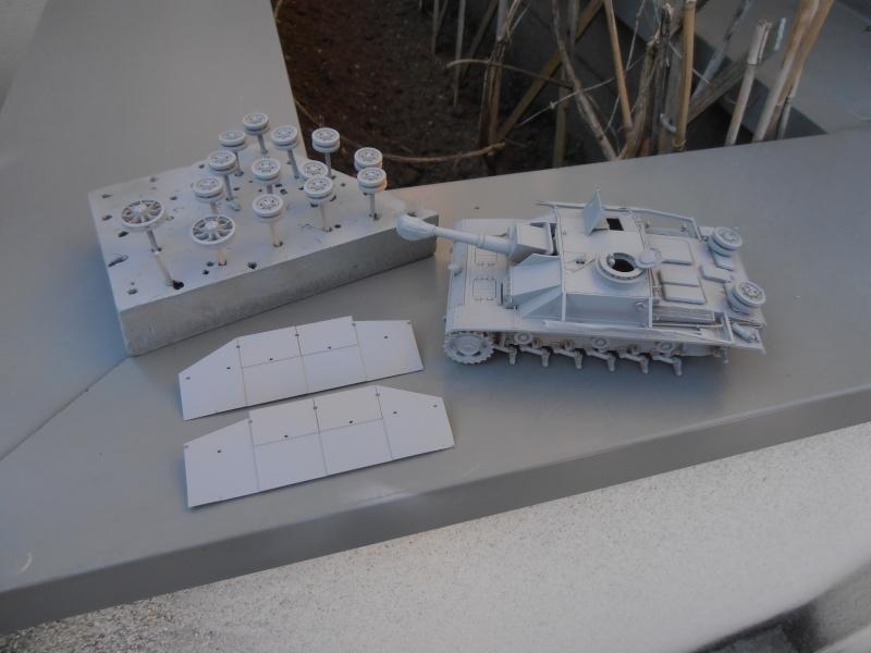 "Stug III ausf G "" 10,5 cm "" ( Tamiya, panzer art 1/35eme ) P9120613"