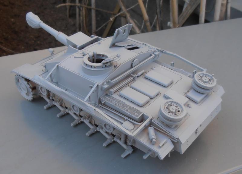 "Stug III ausf G "" 10,5 cm "" ( Tamiya, panzer art 1/35eme ) P9120616"