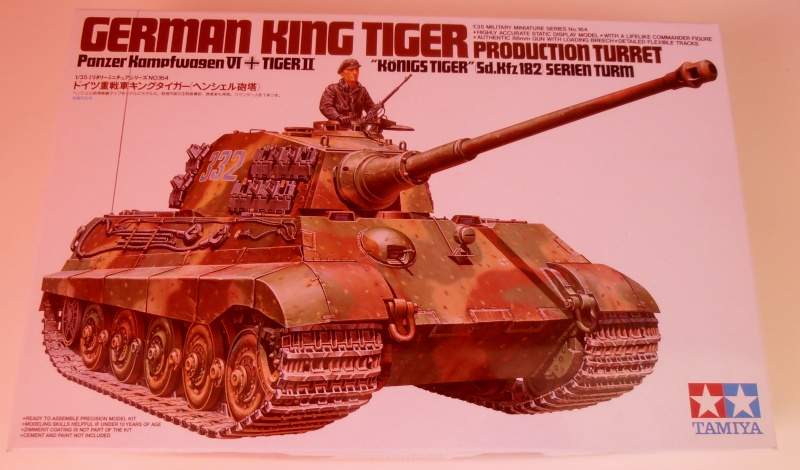 Tigre II ( tamiya/ E.T/ atak au 1/35eme ) Pa170211