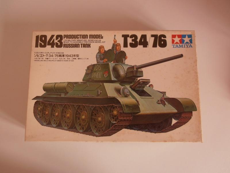 "T34/76  "" dans la plaine russe "" ( tamiya 1/35eme ). Pa260313"