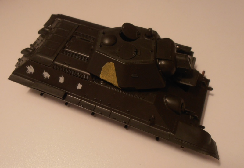 "T34/76  "" dans la plaine russe "" ( tamiya 1/35eme ). Pa260318"