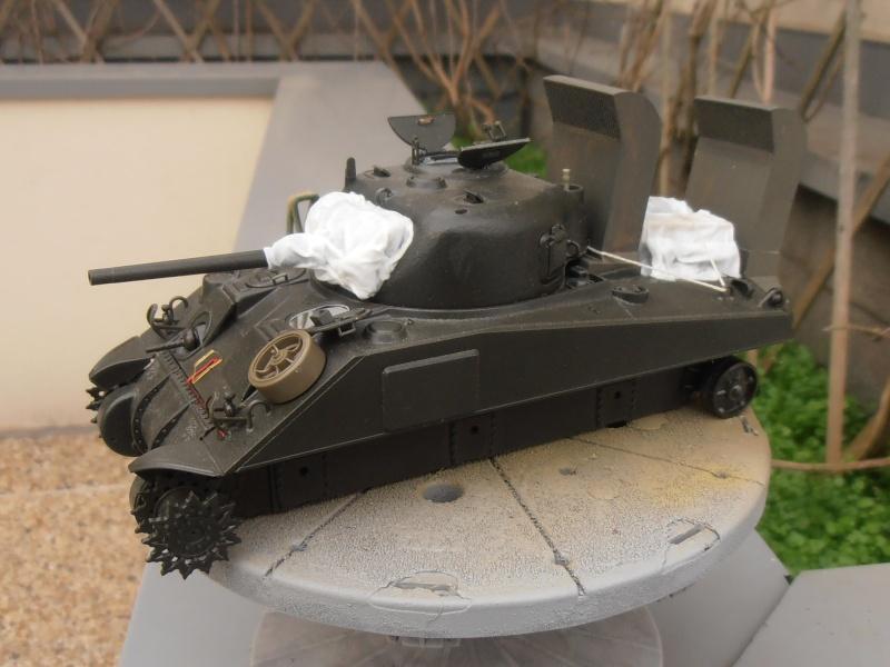 """Sherman M4   """" deep wading """" ( tamiya 1/35eme ) Pc140814"""