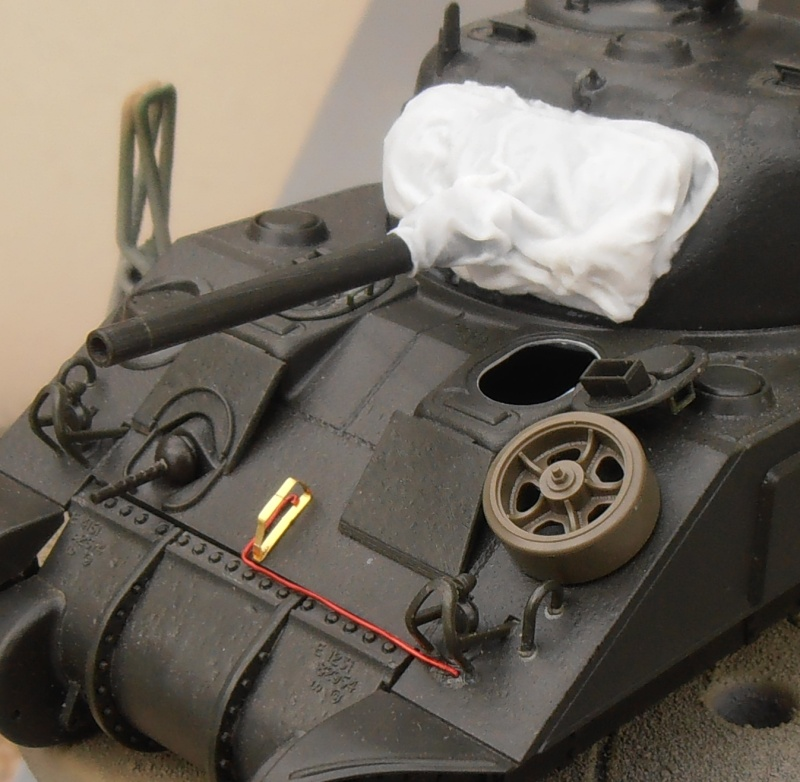 """Sherman M4   """" deep wading """" ( tamiya 1/35eme ) Pc140816"""