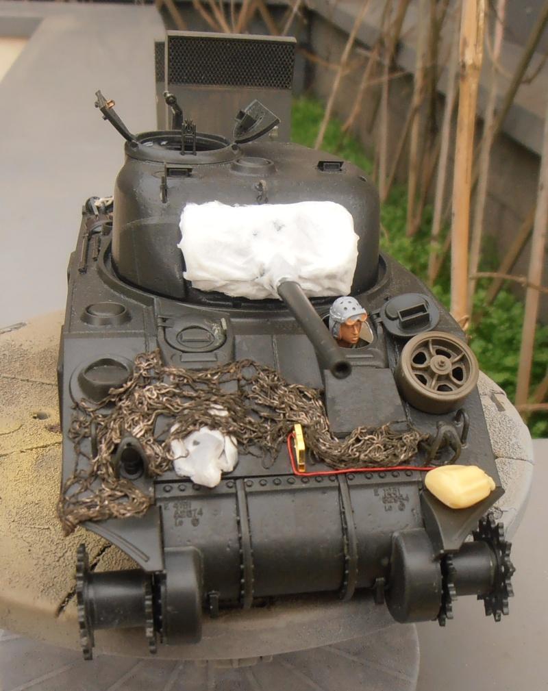 """Sherman M4   """" deep wading """" ( tamiya 1/35eme ) Pc160814"""