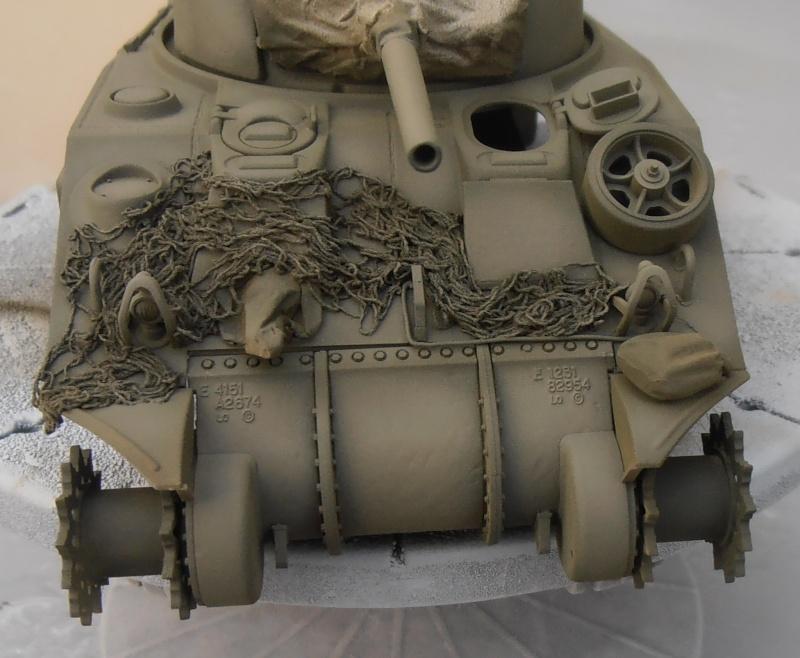"""Sherman M4   """" deep wading """" ( tamiya 1/35eme ) Pc200825"""