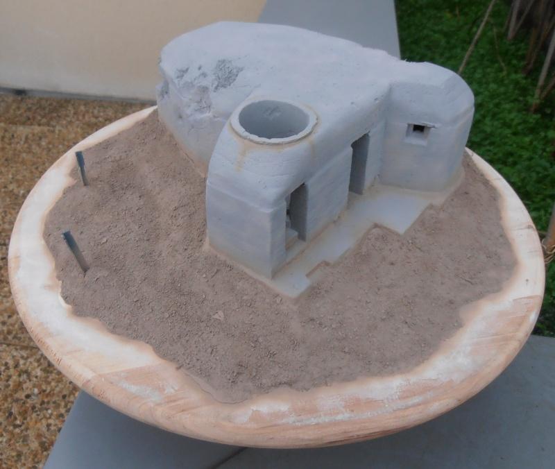 Le bunker ( verlinden 1/35eme ) Pc200832