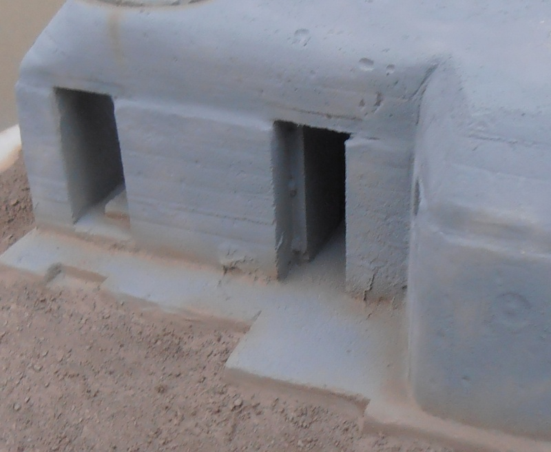 Le bunker ( verlinden 1/35eme ) Pc200833