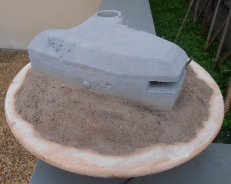 Le bunker ( verlinden 1/35eme ) Pc200834
