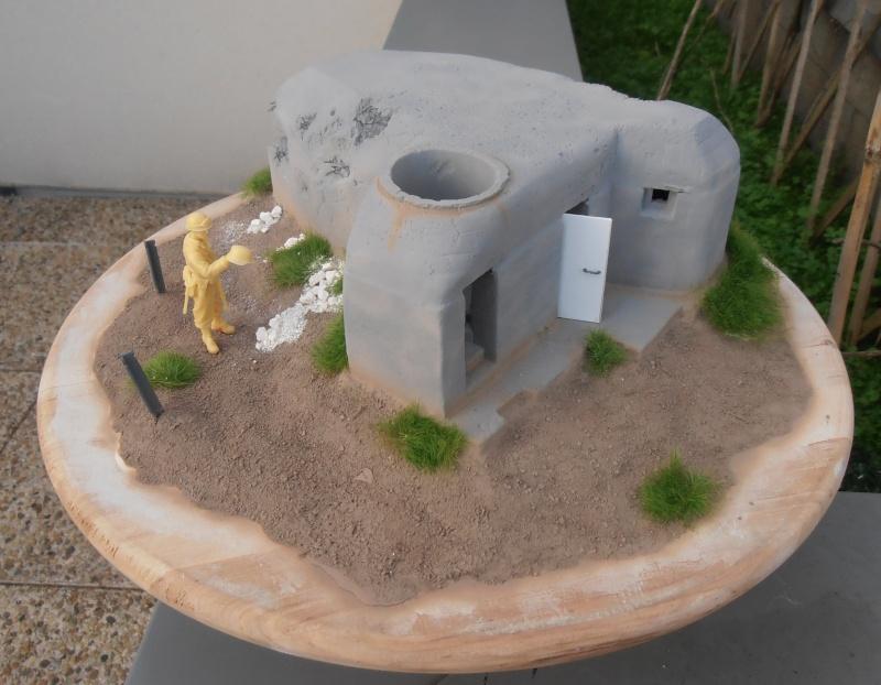 Le bunker ( verlinden 1/35eme ) Pc210816