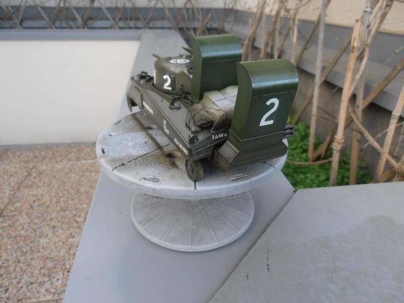 """Sherman M4   """" deep wading """" ( tamiya 1/35eme ) Pc210820"""