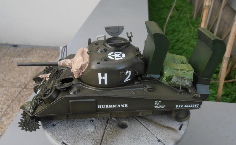 """Sherman M4   """" deep wading """" ( tamiya 1/35eme ) Pc210822"""