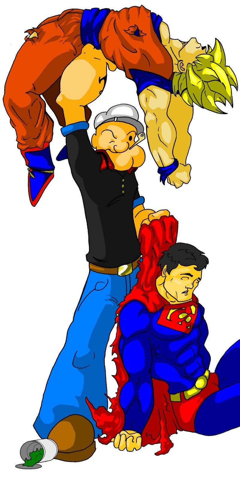 Goku vs Superman - Page 2 Superm10