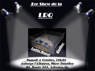 1er Show de la LRQ Affich10