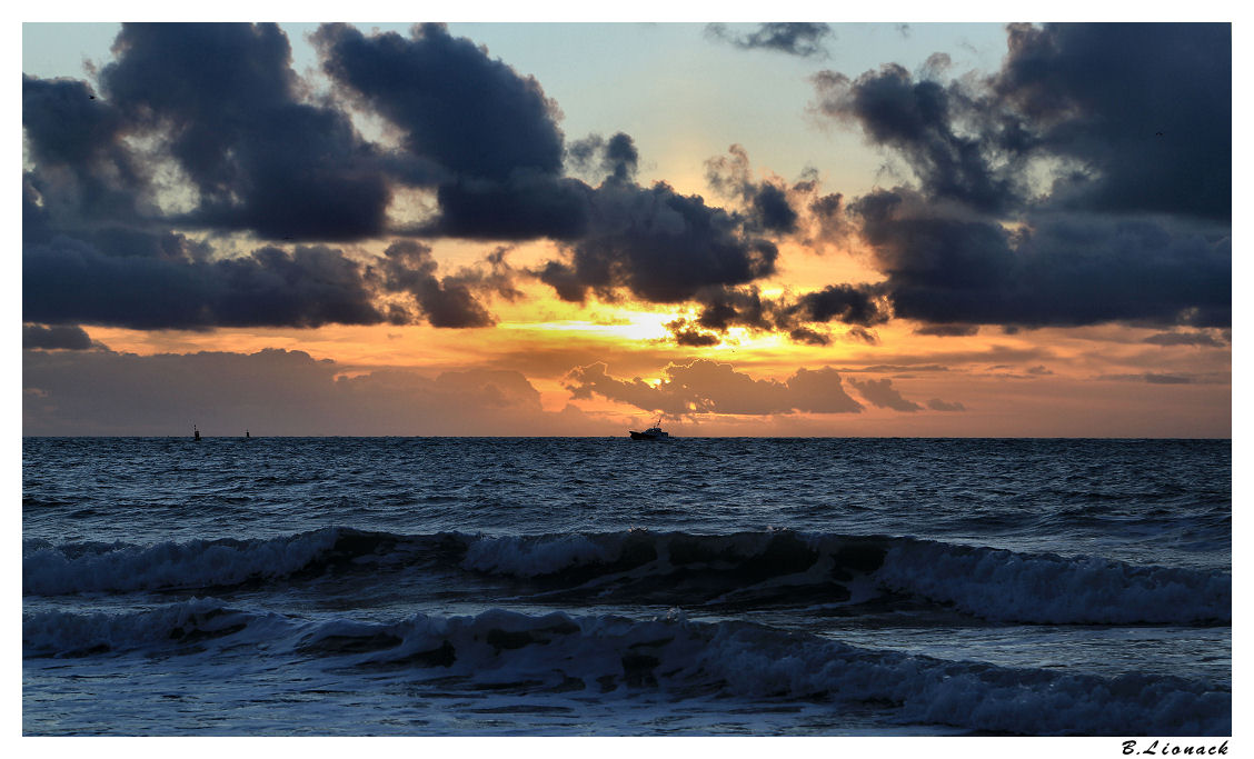 Sur la plage du Havre le 25 décembre Plage12