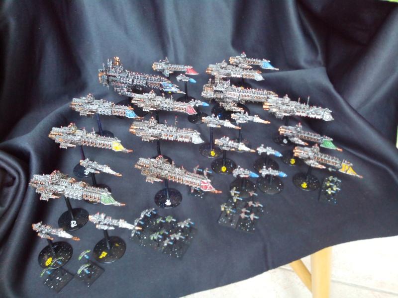 [Imperium / Nécrons] Mes flottes Navy et Imperial Fists + AM Img_2035