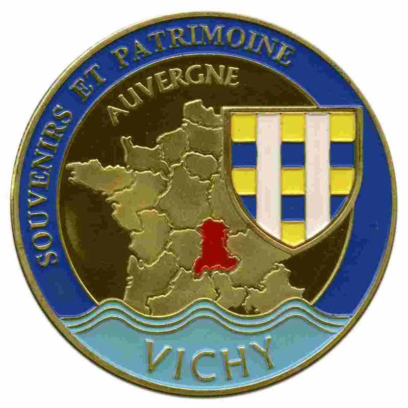 Souvenirs et Patrimoine 40mm = 88 et il doit en manquer Vichy_10