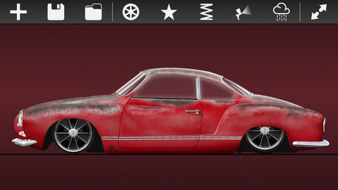 Créer votre rêve Karmann Ghia sur votre iPad ou iPhone Karman10