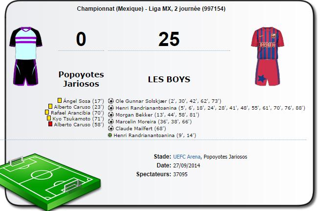 resultats  Match_13