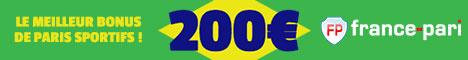 France-Pari 200€ de Bonus Coupe du Monde 2014 France10