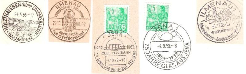 S: Belege, Ersttagsbriefe,  Ganzsachen aus der DDR Ddr110