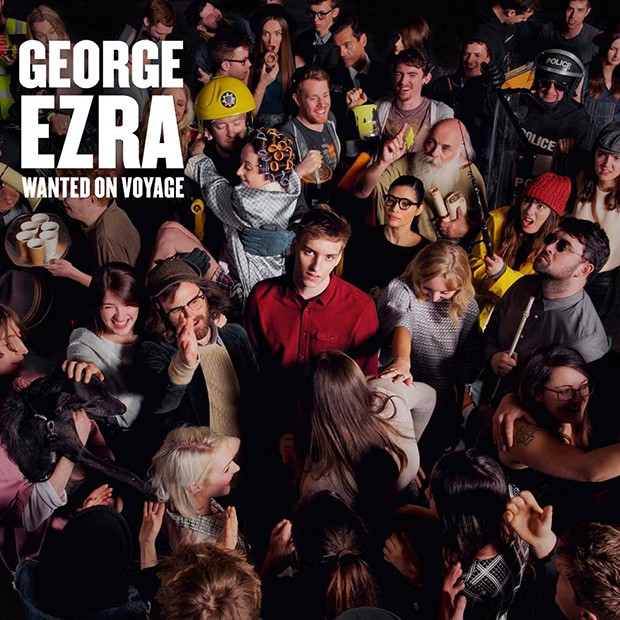 Ascolto questa canzone per radio e ... George Ezra Wanted On Voyage 2014 (Columbia) George10